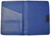 Blue Leather Planner Covers