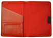 Red Leather Planner Covers